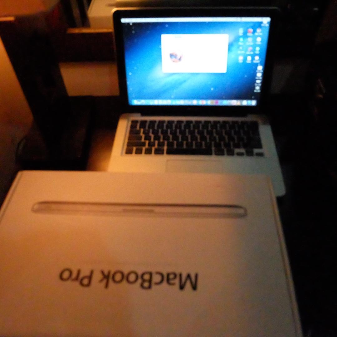 macbook pro 13 mid 2012 mulus siap pakai
