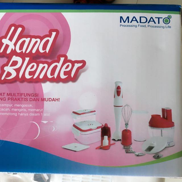 Madato Hand Blender Warna Pink
