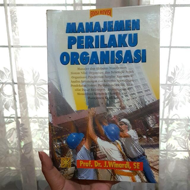 Managemen Perilaku Organisasi