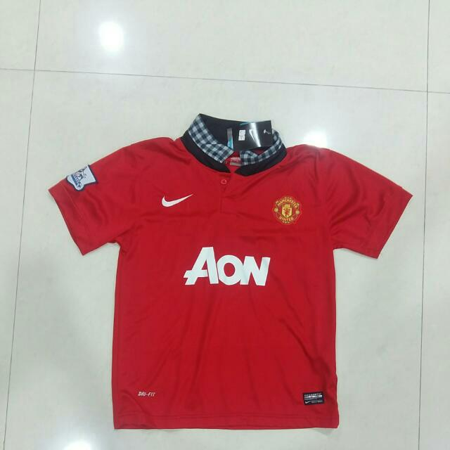Manchester United Original Nike Kit 2013