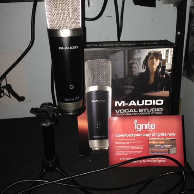 M-Audio Vocal Studio w/ Ignite Music Software