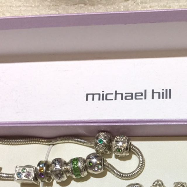 Micheal Hill bracelets ( includes charms)