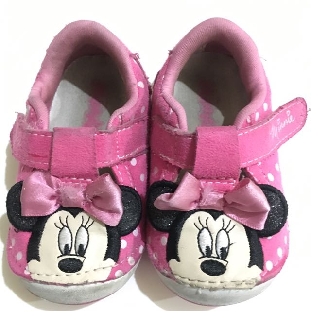 Minnie Mouse Pink Shoes