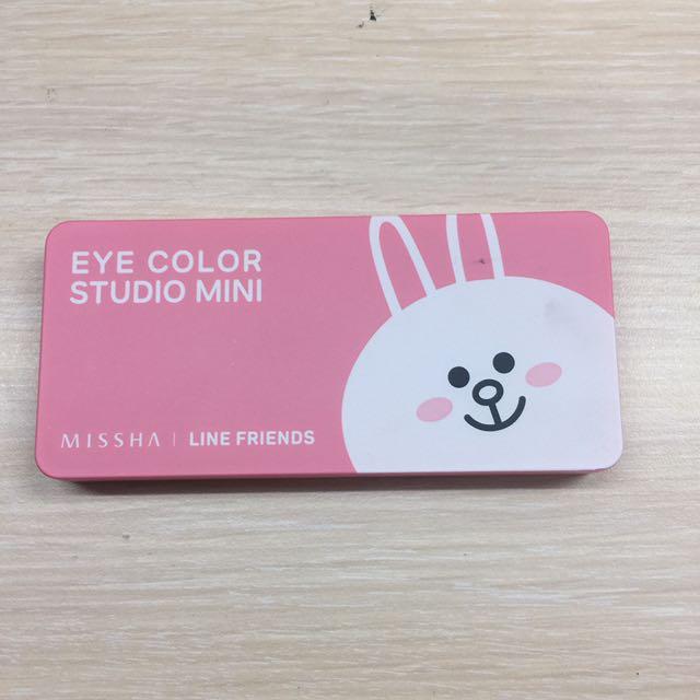 Missha X Line四色眼影盤(兔兔🐰系列)