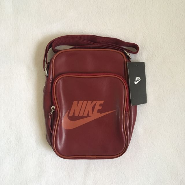 Nike Heritage Sling Bag - Maroon, Men s Fashion, Bags   Wallets on Carousell 6c97c4257d