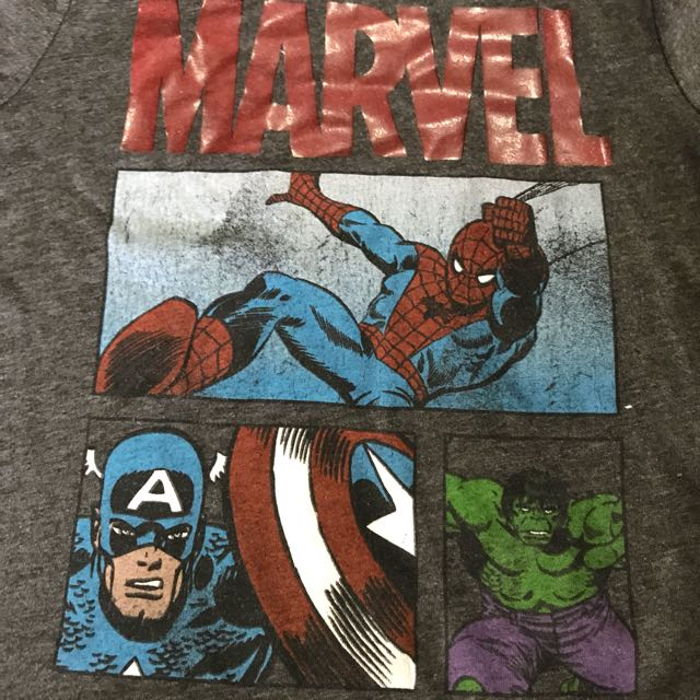 Old Navy Marvel T Shirt 4t Babies Kids Boys Apparel On Carousell