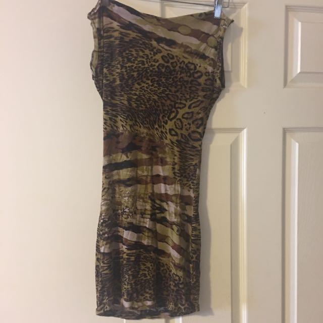 One Of A Kind Custom Backless Mini Dress