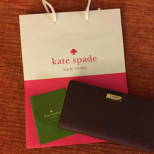 Original Kate Spade Newbury Lane Stacy Clutch Wallet