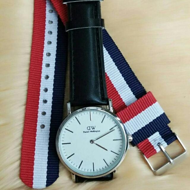 paket jam tangan DW