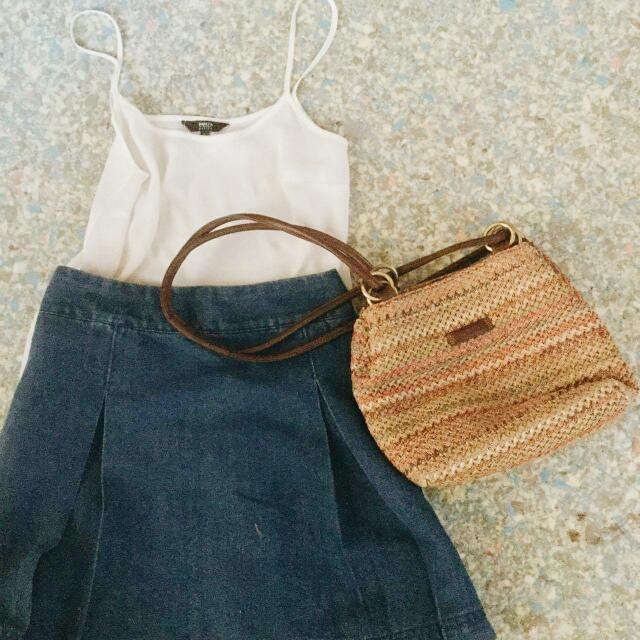 Papaya Weekend Skirt