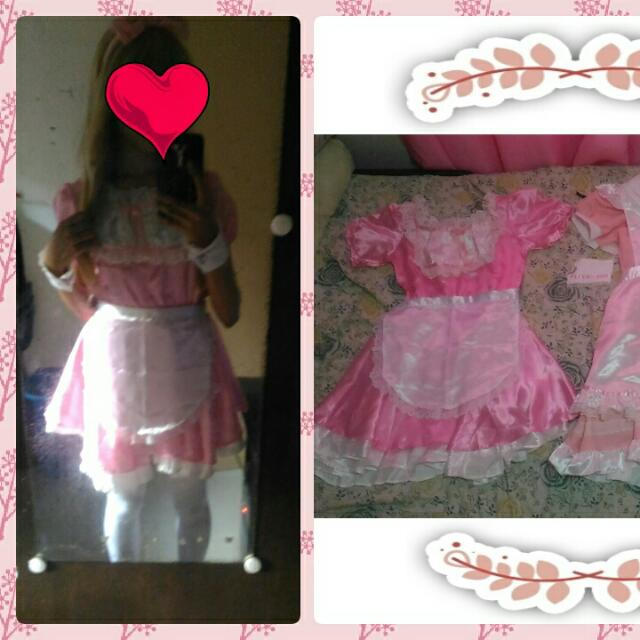 *Pink Maid cos*
