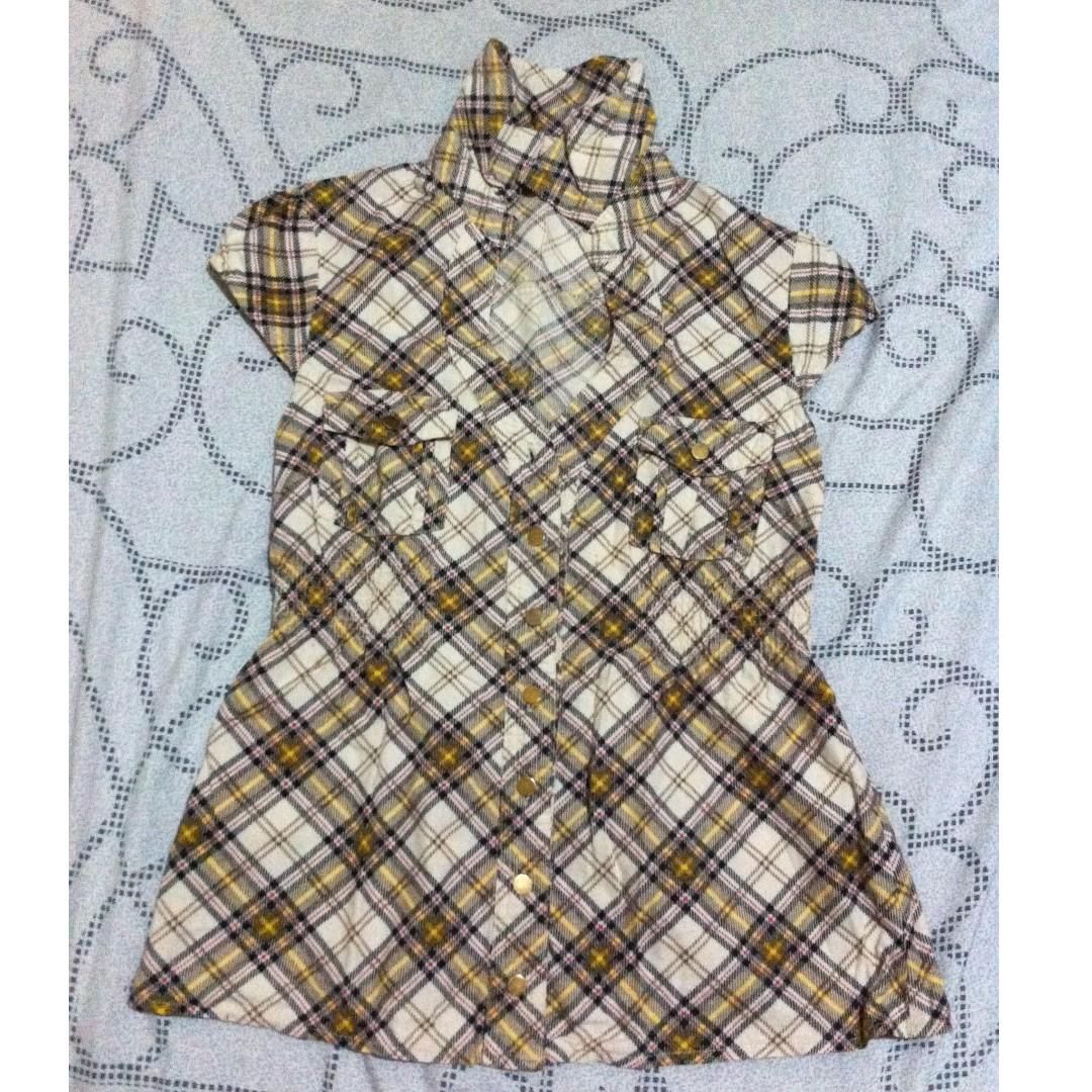 Plaid /  Checkered Blouse