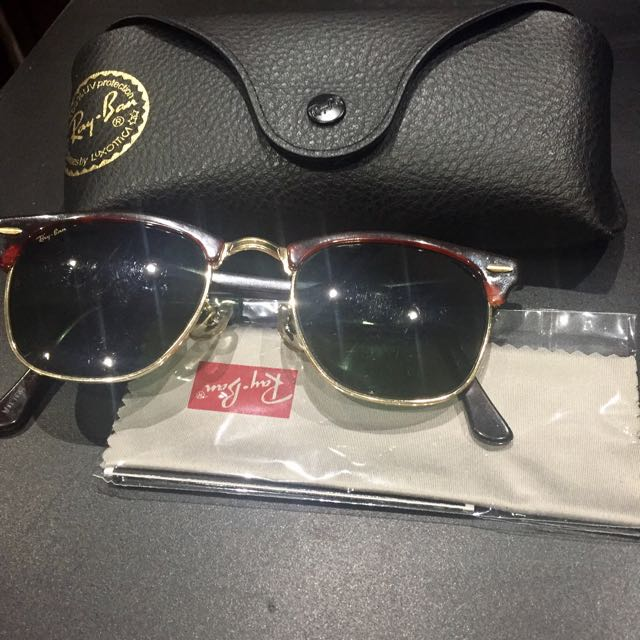 Rayban- Clubmaster Sunglasses