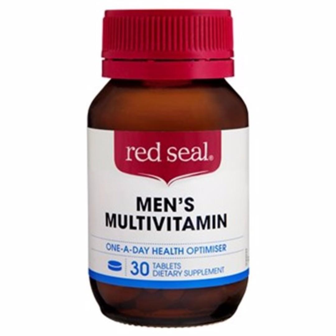 【紐西蘭代購】Red Seal 男性綜合維他命(30/60粒)