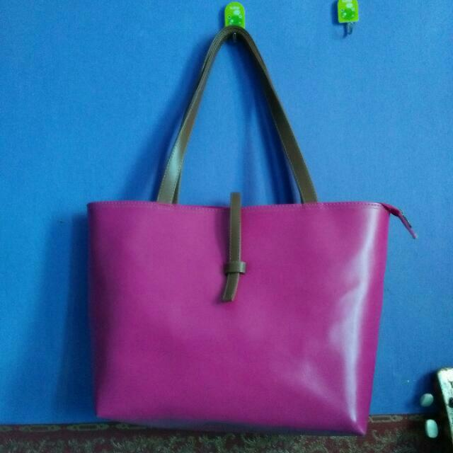 Re-Price Tas Pink/ Tas Tangan