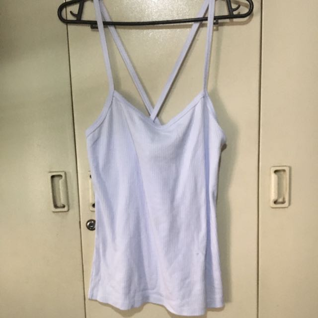 Ribbed Top (baby blue)