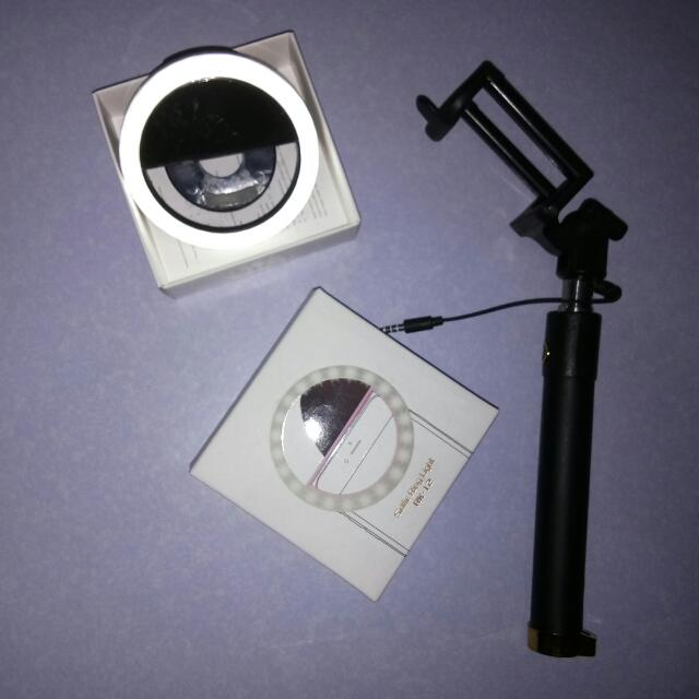 Ring Light And Monopod (SALE)