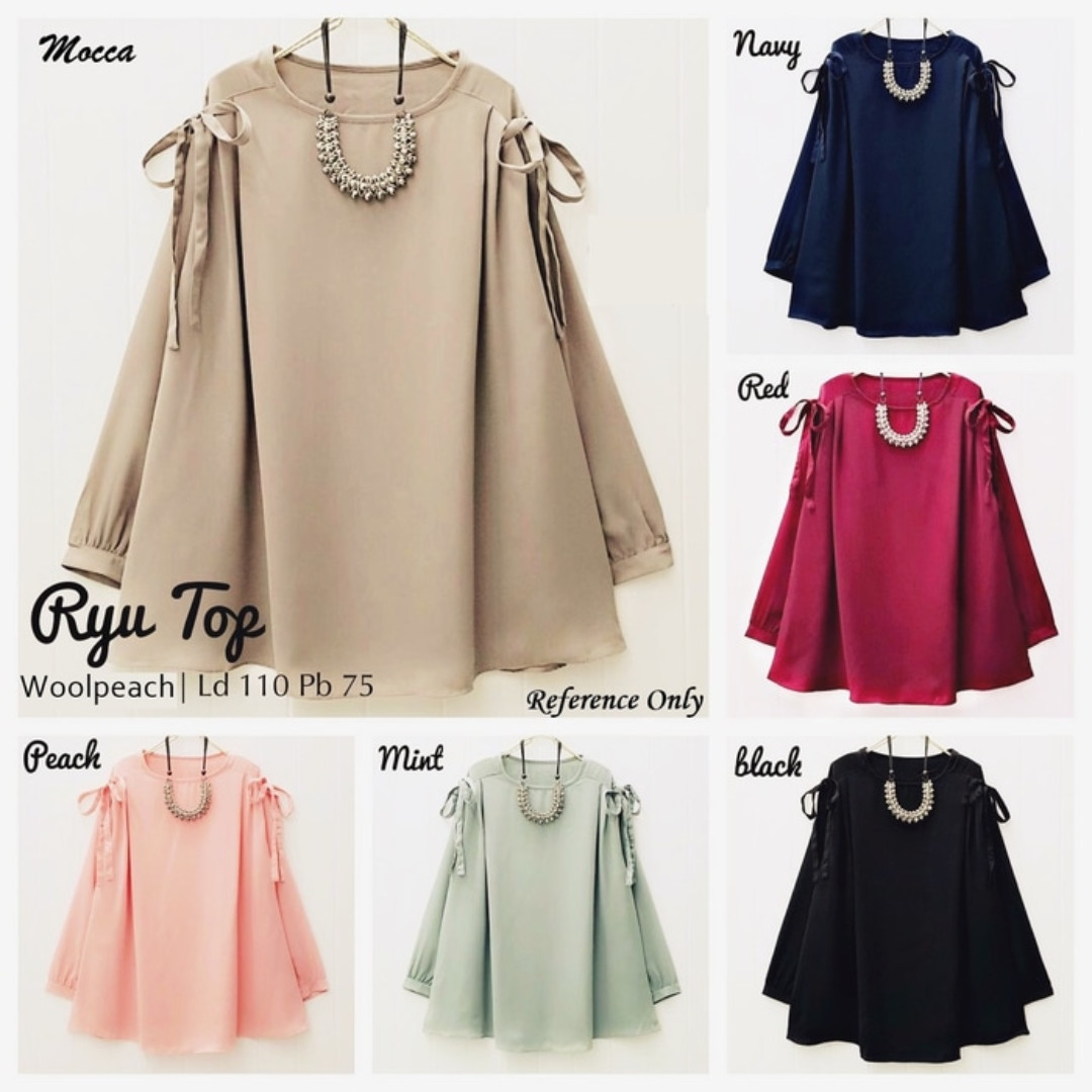 RYU TOP | RYU BLOUSE