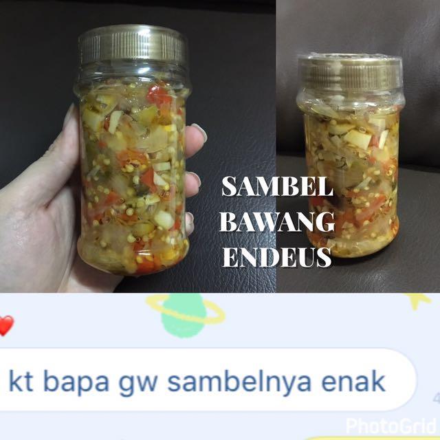 sambal Bawang Endeus
