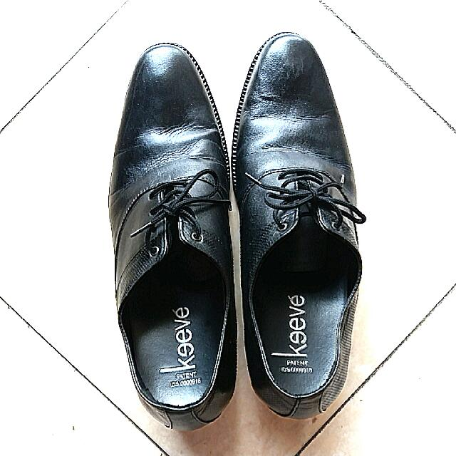 Sepatu Formal Leather (Tali)