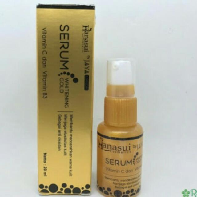 Serum Gold Whitening Hanasui