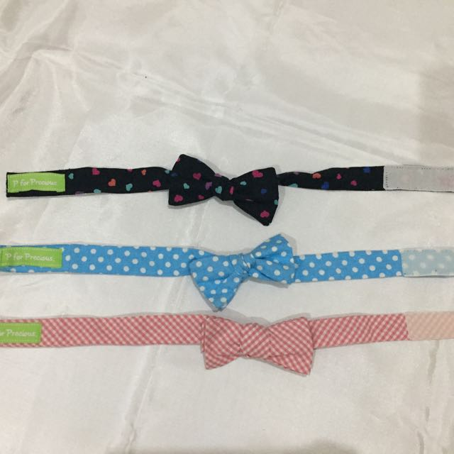 Set Bow Tie Heart