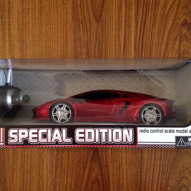 Special Edition Radio Control Scale Model Sports Car