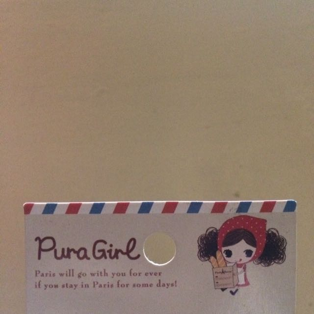 STICKY NOTES (pura Girl Series)