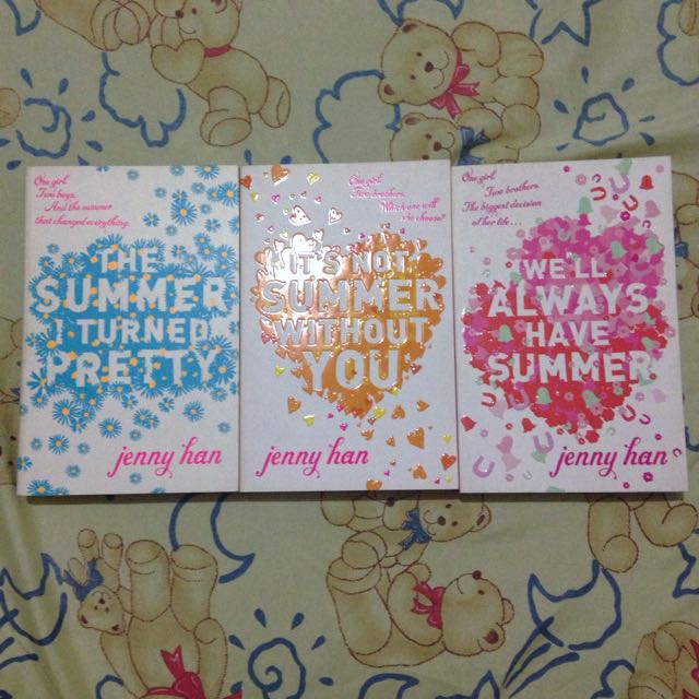 REPRICED!!! The Summer I Turned Pretty Trilogy By Jenny Han ( UK Edition )