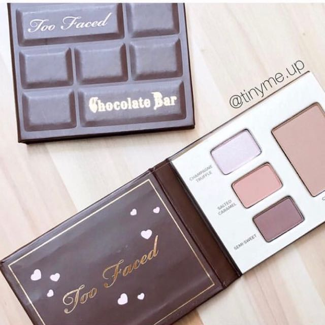 Toofaced Mini Chocolate Bar Eyeshadow