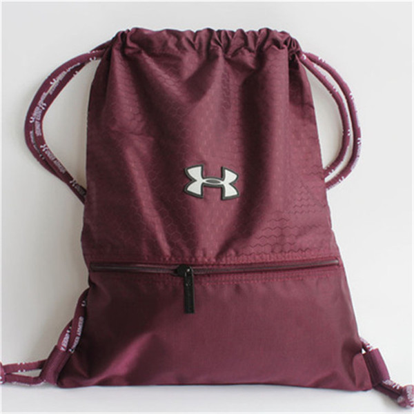 ef871197ee L) Under Armor Drawstring Bag - Maroon color