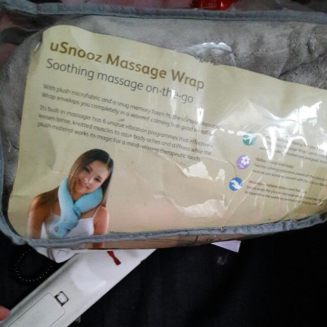 Usnooz Massage Wrap Merk Osim