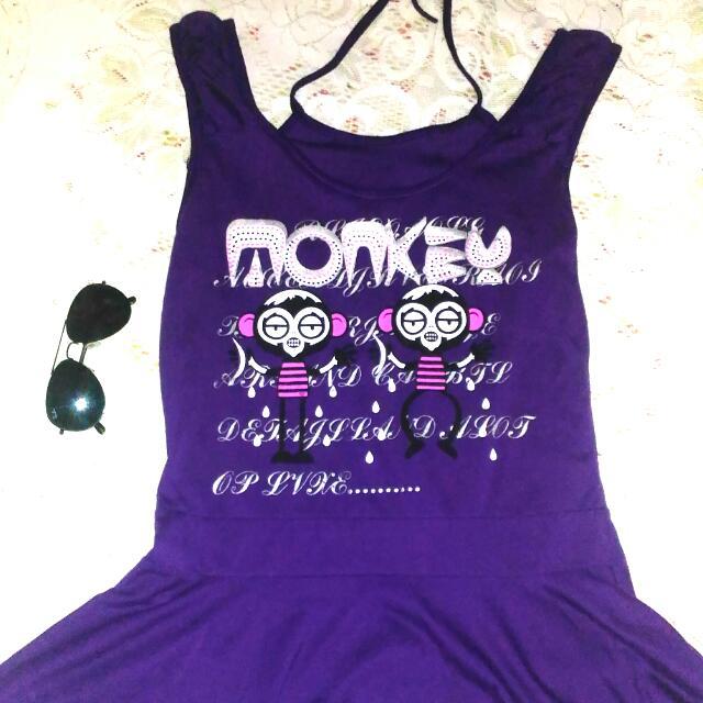 Violet Cute Dress