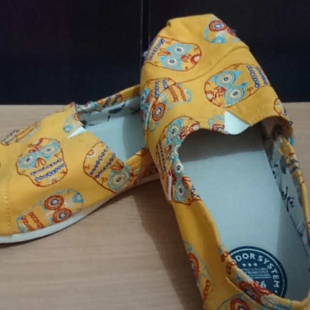 Wakai Shoes (Yellow)