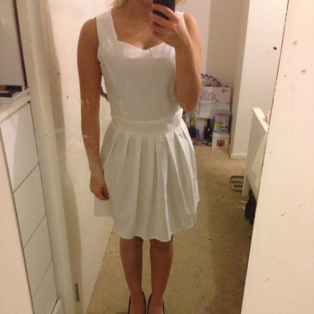 White Beach Type Dress