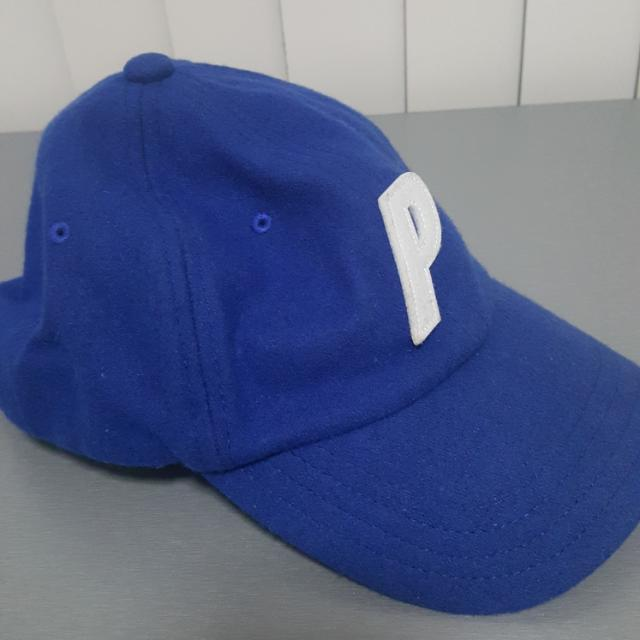 Wool Blue Palace Cap