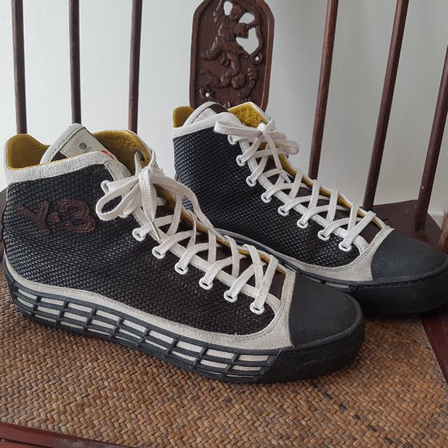 🗒🖍Back To School SALE!👦✏ Y-3 Yohji Yamamoto Y3 Sneakers Rubber Shoes High Tops