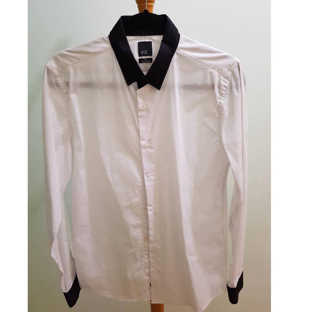 YD White Formal Shirt