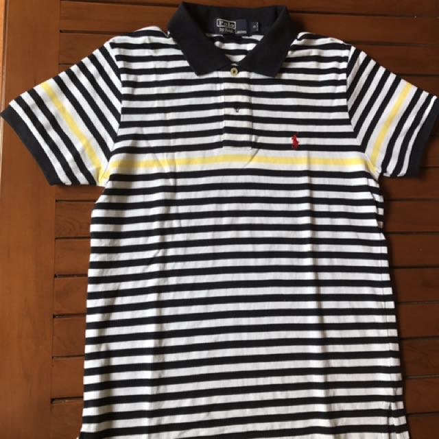 Yellow Line - Polo Shirt