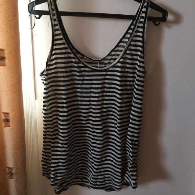Zara Knit Stripe Tank