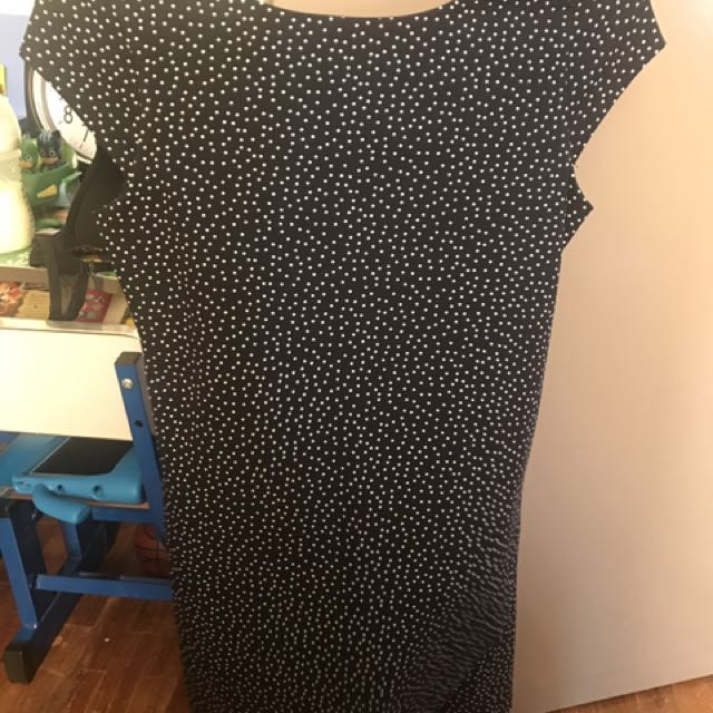 Zara polka dress