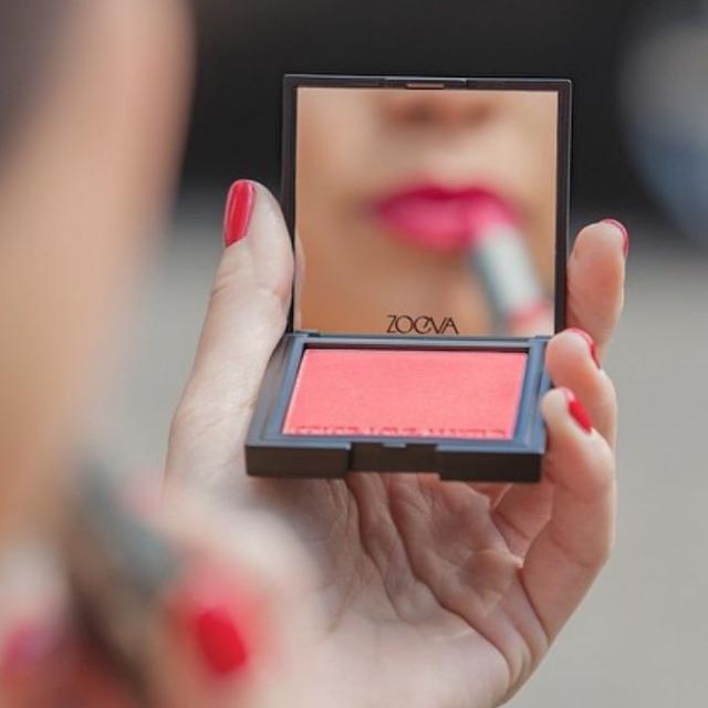 """Zoeva Luxe Color Blush Shade """"Rush Rush"""""""