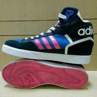 Sepatu Adidas Extaball Black/Blue Woman