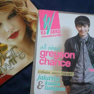 taylor swift and greyson chance books