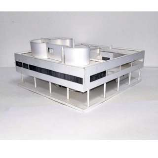 🚚 紙模型  Villa Savoye 薩伏瓦別墅