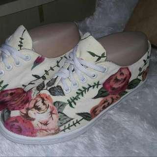 Vintage Floral Shoes MTO