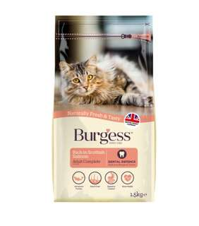 Burgess Adult Cat Scottish Salmon