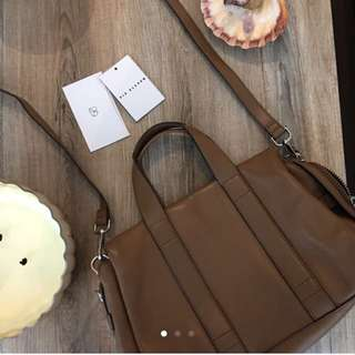 Aritzia Six Eleven Real Leather Purse