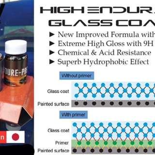 Japan 9H Extreme Gloss Glass Coating