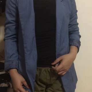 Divided By H&M Office Blazer(blue)